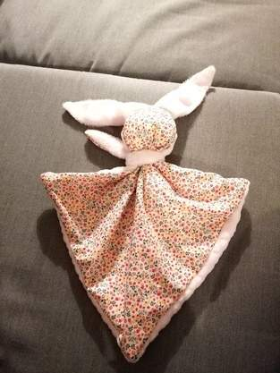 Makerist - Zola le Doudou lapin - 1
