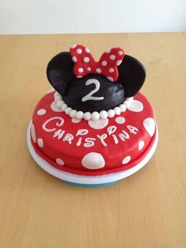 Makerist - Für meine kleine Minnie Mouse zum 2. Geburtstag - Torten, Cake Pops und Cupcakes - 1