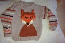 Makerist - Herbstlicher Fuchspulli für den Kleinen - 1