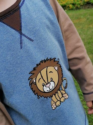 Makerist - Löwe Theo für meinen Sohn - Textilgestaltung - 1