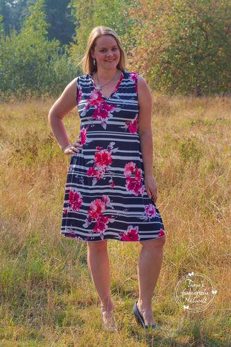 Makerist - Sommerkleid Amy aus Viscosejersey - Nähprojekte - 2