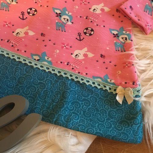 Makerist - Raglankleid Daisy trifft auf Hafenkitz - Nähprojekte - 2