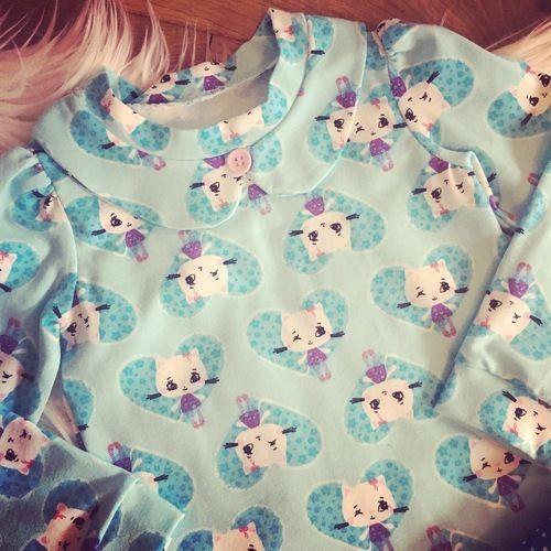 "Makerist - Tolle Kombi: Shirt ""Immergrün"" und Shorts ""Girly Bloomers"" - Nähprojekte - 2"