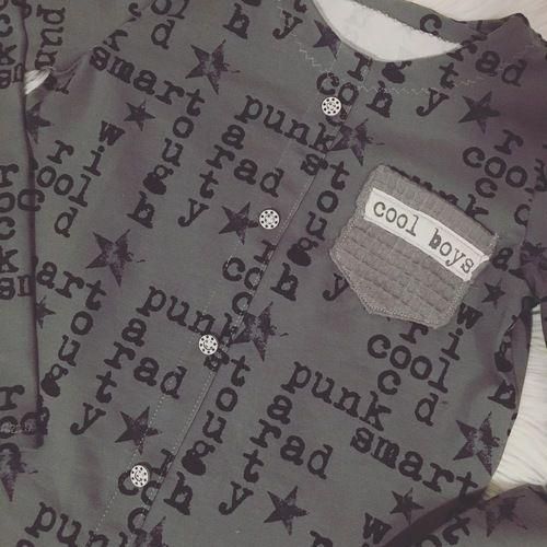 Makerist - Button Shirt Boys in Gr. 146 - Nähprojekte - 2