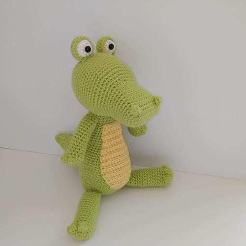 Makerist - Amigurumi Lemon le crocodile - Créations de crochet - 1