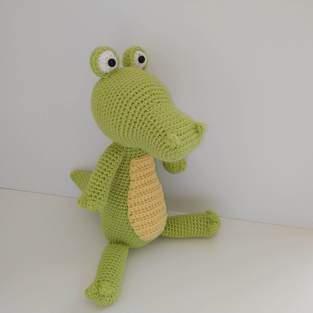 Makerist - Amigurumi Lemon le crocodile - 1