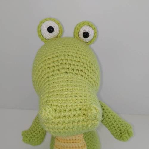 Makerist - Amigurumi Lemon le crocodile - Créations de crochet - 3