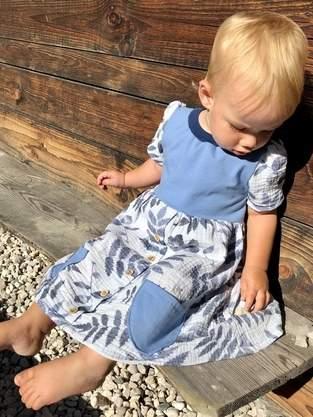 Makerist - Girls Button Dress  - 1