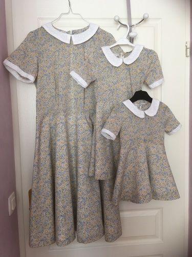 Makerist - Robe Lexie pour toute la famille - Créations de couture - 1