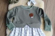 Makerist - Girly Sweater von Schleiferlwerk für meine Mullemaus - 1
