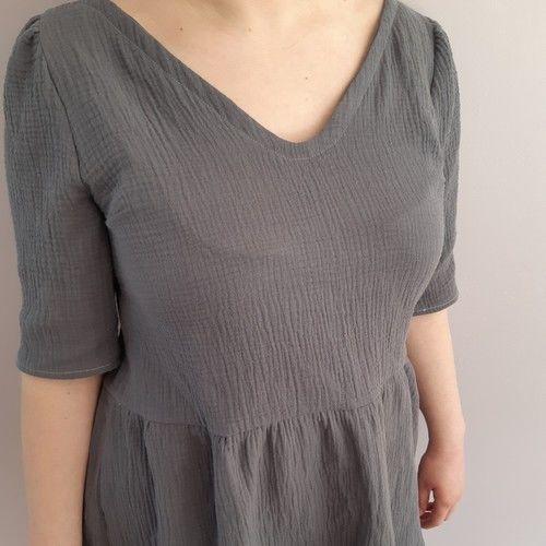 Makerist - Tunique oh en double gaze - Créations de couture - 1