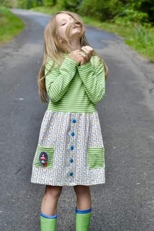 Makerist - Girls button dress von Jessy sewing - 1