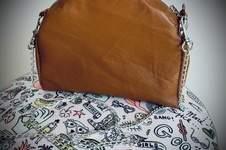 Makerist - Mini sac AVERSE en cuir cognac patron de Damn Good Caramel - 1