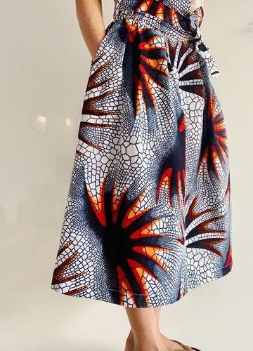 Makerist - Jupe l'Elegante de Popeline et Linon - Créations de couture - 3