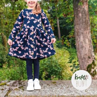 Makerist - Girls Button Dress - Jessy Sewing aus Jersy für die lässigen Mädels - 1