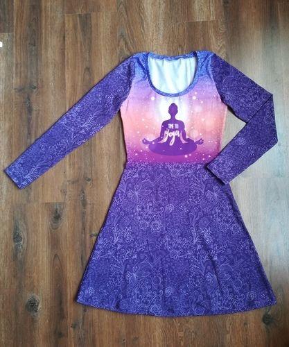 """Makerist - Petite robe zen en jersey (""""Robe Mia"""" de chez L'Usine à Bulles) - Créations de couture - 1"""