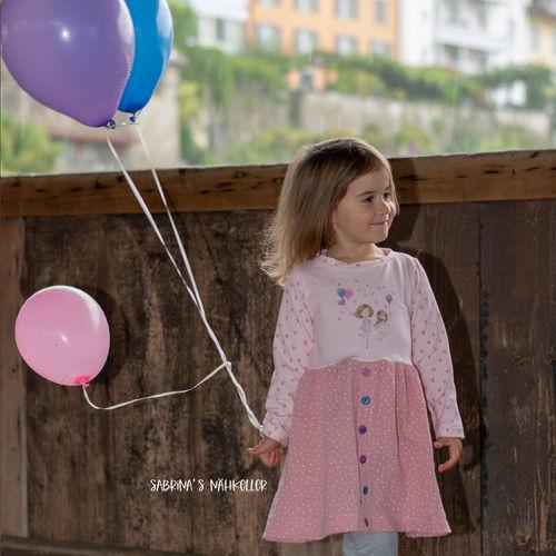 Makerist - Girls Button Dress von Jessy Sewing - Nähprojekte - 1