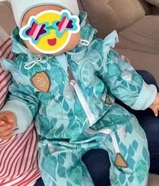 Makerist - Und noch ein Jolly Jumper für unsere Kleine. Diesmal aus Softshell - 1