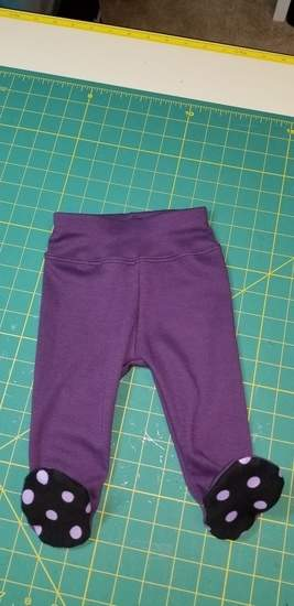 Baby footed pants
