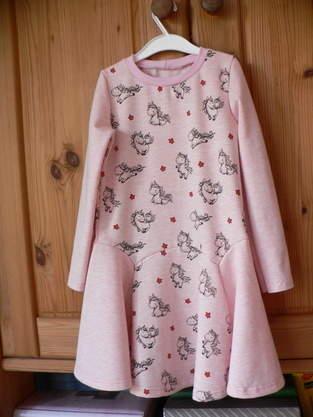 Makerist - Bluebell Kinderkleid aus Sweat - 1