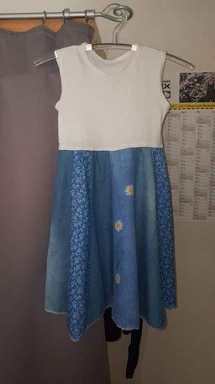 Makerist - Sommerkleid nach Lottis Drehkleid aus Stoffresten fürs Patenmädel - 1