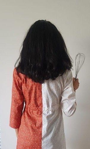 Makerist - Robe Gourmandise d'Atelier Maelstrom version bicolore - Créations de couture - 2