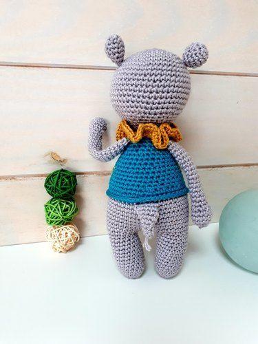 Makerist - Noam l'hippopotame de Lucélie Création - Créations de crochet - 3