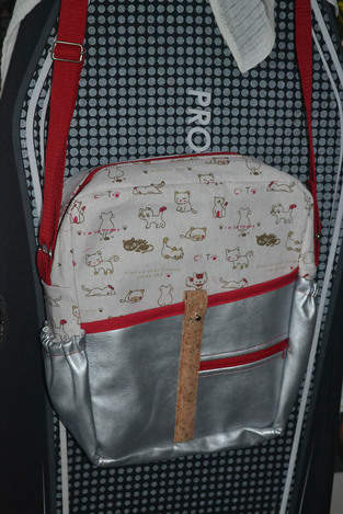 Makerist - Kitty Bag for myself - 1