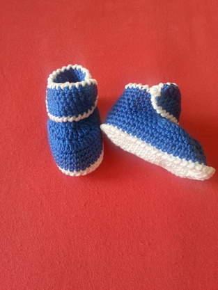 Makerist - Babyschuhe Matrose - 1