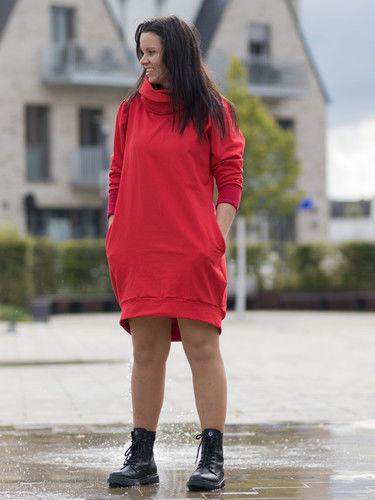 Makerist - Lady in Red - Nähprojekte - 2