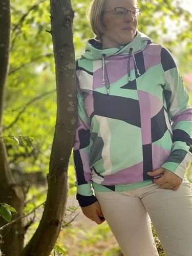Makerist - Ladies Basic hoodie - Nähprojekte - 1
