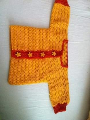 Makerist - Baby Willkommensgeschenk, babyjacke und passende Mütze Anton( noch in Arbeit) - 1