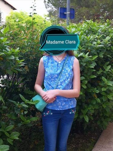 Makerist - Top Madame Clara en viscose, réalisé pour ma fille  - Créations de couture - 1