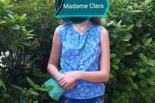 Makerist - Top Madame Clara en viscose, réalisé pour ma fille  - 1