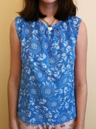 Makerist - Top Madame Clara en viscose, réalisé pour ma fille  - Créations de couture - 2