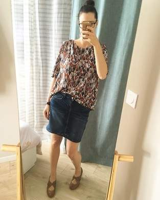 Makerist - Blouse Mme YOKO (garde robe automne 2020) - 1