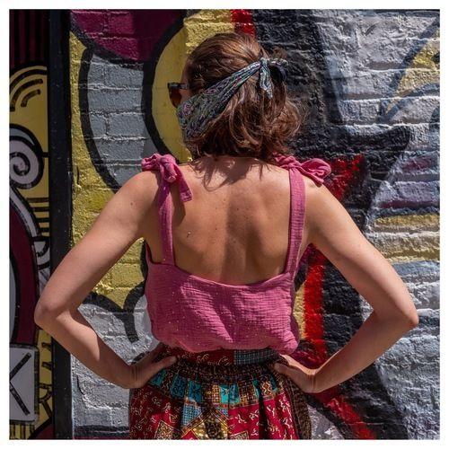 Makerist - Caraco SONGE - POPELINE & LINON - Double Gauze - Créations de couture - 1