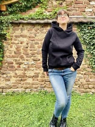 Wintersweathoodie Arosa von DreiEms - so kuschelig
