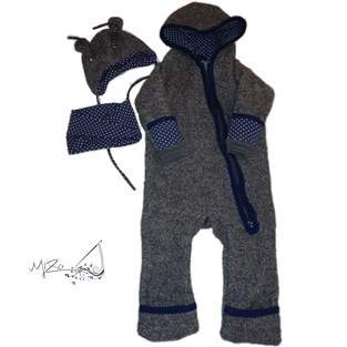 Makerist - Kid5 Wintersuit aus Walkloden - 1