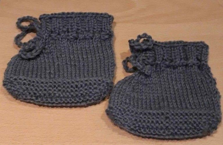 Makerist - Babyschuhe - Strickprojekte - 1