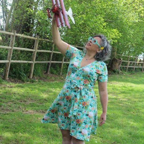 Makerist - Une robe féminine et confortable- Robe Mia l'usine à bulle - Créations de couture - 1