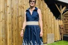 Makerist - Rockabilly Sommerkleid aus Webware  - 1
