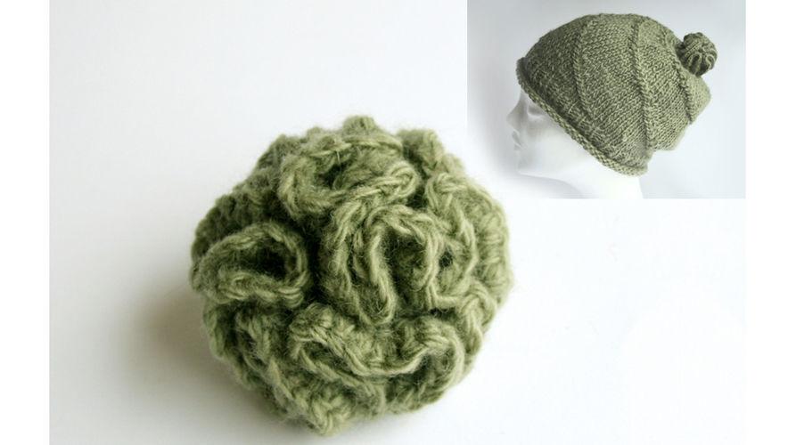 Makerist - einen Bommel für die Mütze häkeln :-) - Häkelprojekte - 1