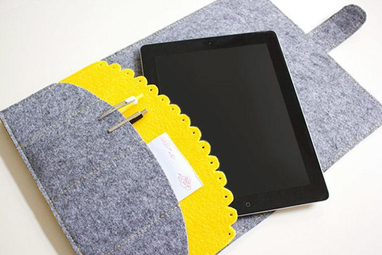 Makerist - iPad-Hülle - Nähprojekte - 1