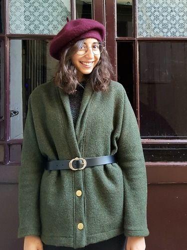 Makerist - Manteau Artemis en lainaige chiné - Créations de couture - 1