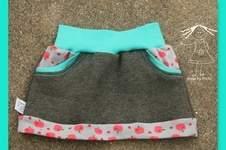 Makerist - Little Sweat Skirt nach dem Freebook von Lin-Kim - 1