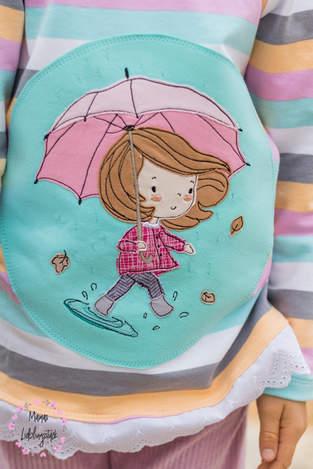 Makerist - Pulli mit Stickmotiv für Mädchen - Mädchen Ava - 1