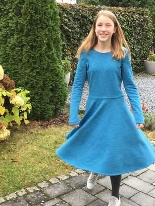 Schickes Winterkleid, kuschelig und bequem