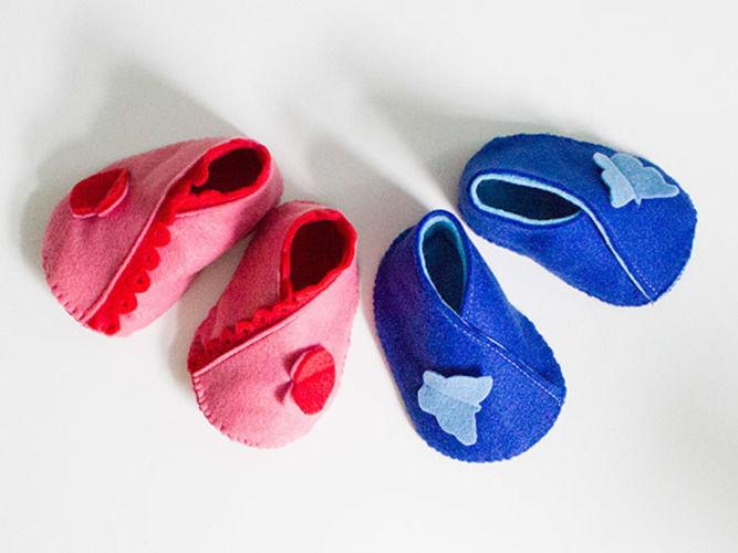 Makerist - Babyschuhe aus Filz  - Nähprojekte - 1