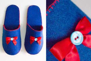 Makerist - Pantoffeln aus Filz - 1